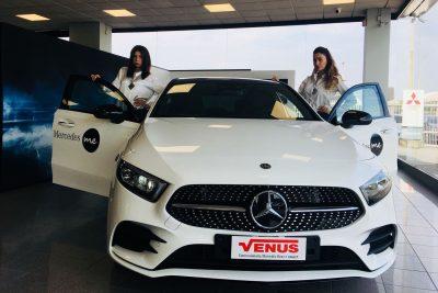 Grande vernissage al gruppo Venus per la nuova Mercedes Classe A